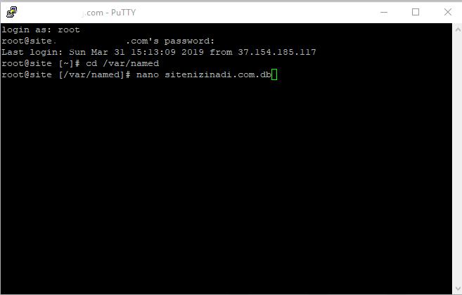 Centos SSH bağlantısı nasıl açılır.